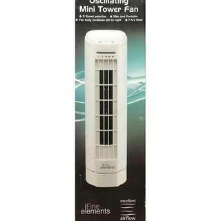 【夏日小涼伴】Fine elements - 迷你直立式風扇 (Oscillating Mini Tower Fan)