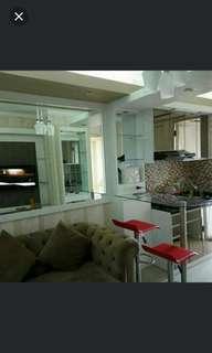 Disewakan apartemen Bassura city murah full furnished. Bisa bulanan,bisa tahunan