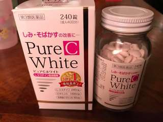 Pure White C from Japan
