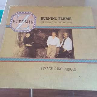 Vitamin Z Burning Flame LP Vinyl record