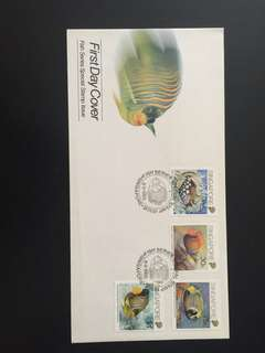 1989 Fish Series FDC