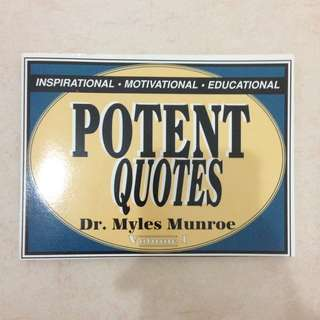 [CLEARANCE] Positive Potent Quote Book