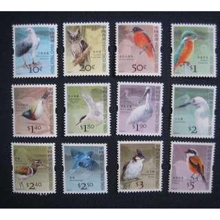 香港2006-通用郵票-鳥-郵票 - ($35 包平郵)