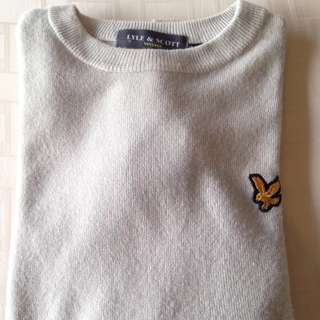 Vintage Fred Perry Lyle & Scott Sweater Jumper Size M