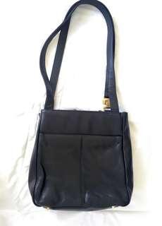 Charter Club leather shoulder bag