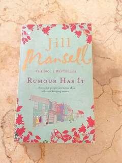 Novel RUMOUR HAS IT by JILL MANSELL