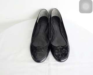 Authentic preloved tory burch flats shoes