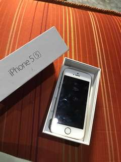 iPhone 5S Gold Edition 16GB+ Free Ori Givenchy casing&Apple casing