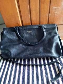Authentic Gobelini Black Bag