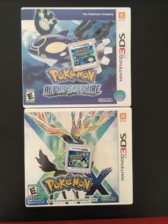 Nintendo 3DS Pokemon Games