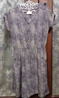 PRELOVED Semi Silk Dress