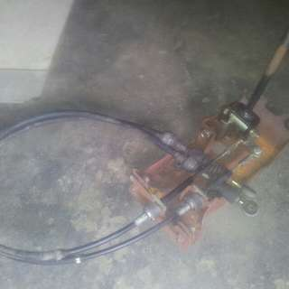 Proton saga(iswara,saga2) Manual shifter+shifter cable