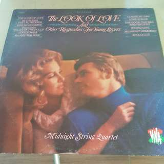 The Look of Love and Other Rhapsodies for Young Lovers LP Vinyl record