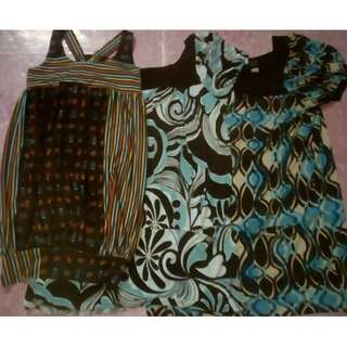 Long blouses in bundle 3 for 500 pesos Large to Plus SIZE