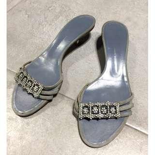 Giuseppe Zanotti Design 水鑽羈皮涼鞋