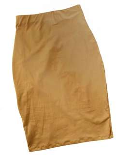 Tan long skirt