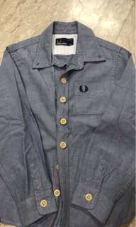 Fred perry jean top for kids