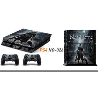 PS4 SKIN WITH 2 CONTROLLER SKINS
