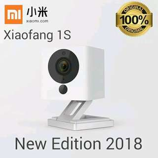 🚚 2018 Xiaomi 1080P Mi Xiao Fang Small Square Smart IP Camera 1S - XiaoFang CCTV #CarouPay
