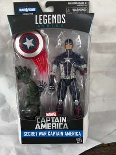 Captain America marvel legends secret war