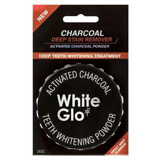 WHITE GLO ACTIVATED CHARCOAL