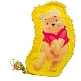 Winnie the Pooh Pinata with Stick