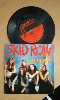 "SKID ROW. 7""inch Vinyl"