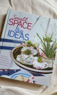 Small Space Big Ideas gardening projects book