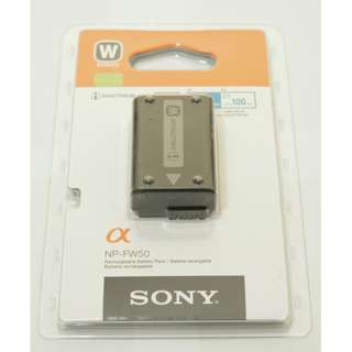 (NEW) Sony Original Battery NP-FW50