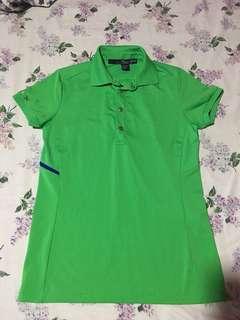 ralph lauren sporty green polo shirt