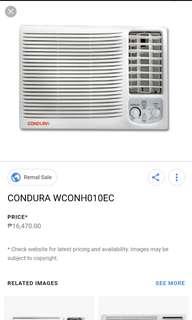 Condura Aircon 1hp