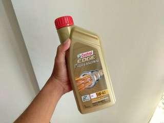 Castrol EDGE engine oil