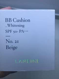 New laneige bb cushion shade 21
