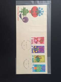 1972 National Day FDC