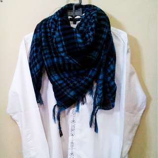 Blue Scarf from Lee Cooper