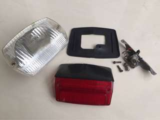 Bosatta Headlamp Stoplamp Vespa Smallframe PTS