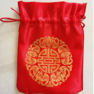 Traditional wedding Chinese bags 结婚用品