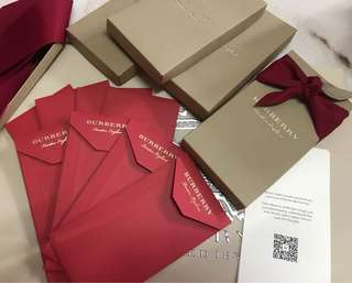 Burberry red packet