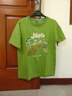Kaos Jakarta Hijau