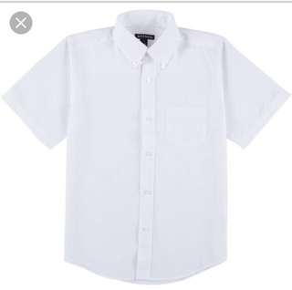 White Polo Uniform Unisex