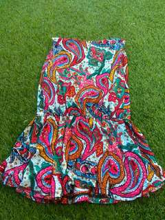 Top colorful ethnic
