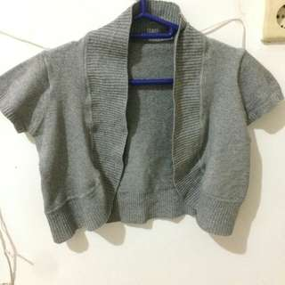 NEW GREY BOLLERO/CARDIGAN