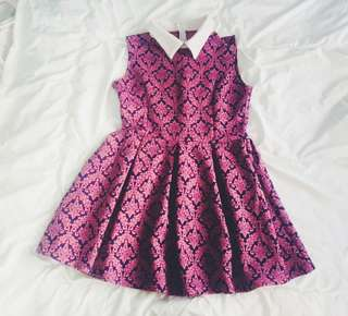 Sleeveless babydoll dress