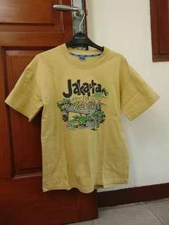 Kaos Jakarta Coklat