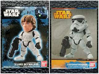 Luke Skywalker & Stormtrooper CONVERGE figures