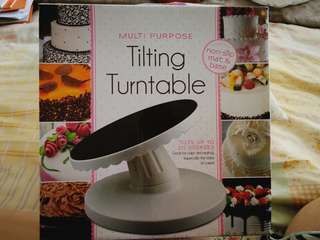 Cake decorating turnable tray (multi purpose)