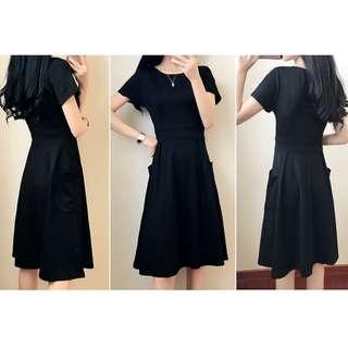 BNIB Women Black Dress