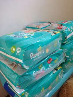 Pamper diapers XXL