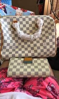 Bag and walet