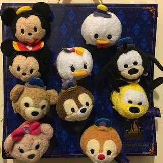 包平郵 香港迪士尼十週年限定 Disney Tsum Tsum 毛公仔